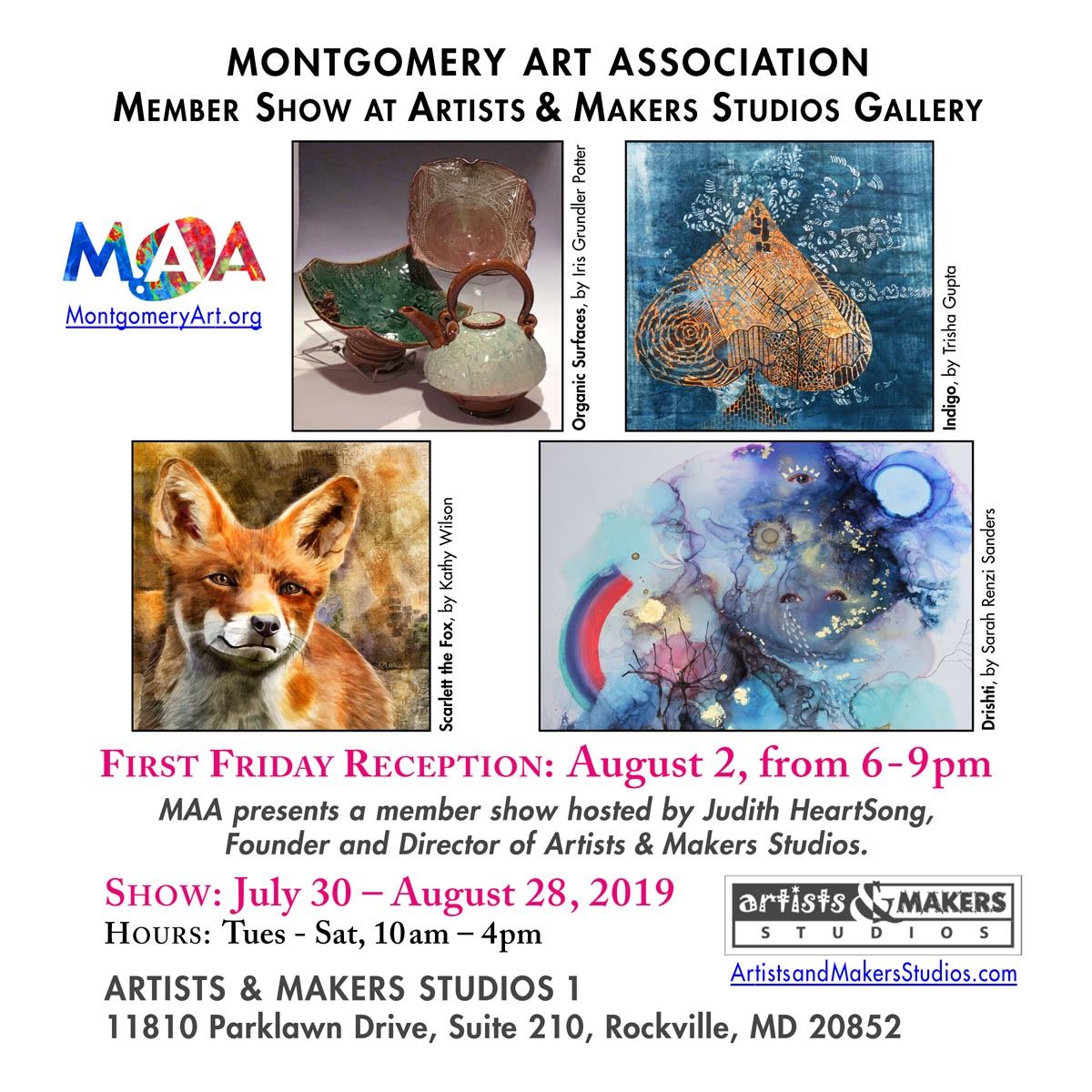 Montgomery Art Association - News & Features